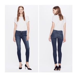 MOTHER The Looker Here Kitty Kitty Skinny Jean 27